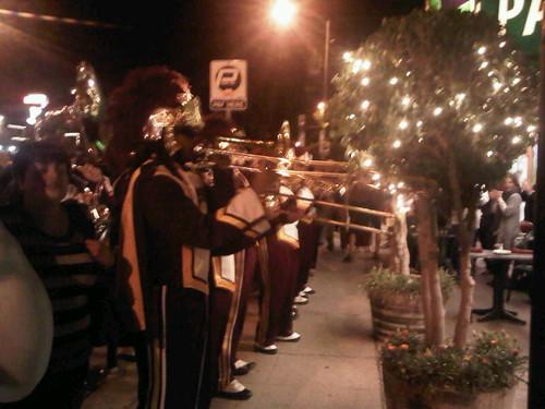 USC Trojan Marching Band in Venice Beach