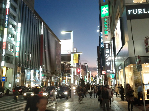 Japan trip 2011 - Day 8, part Ni - Ginza