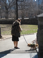 Walking her dog by TheTurducken