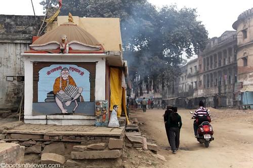 Small Hanuman shrine