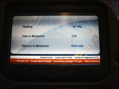 Taking off from Auckland International Airport to Melbourne