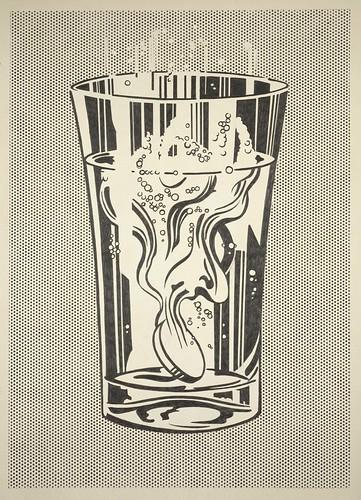 Lichtenstein Alka Seltzer by eyemagazine