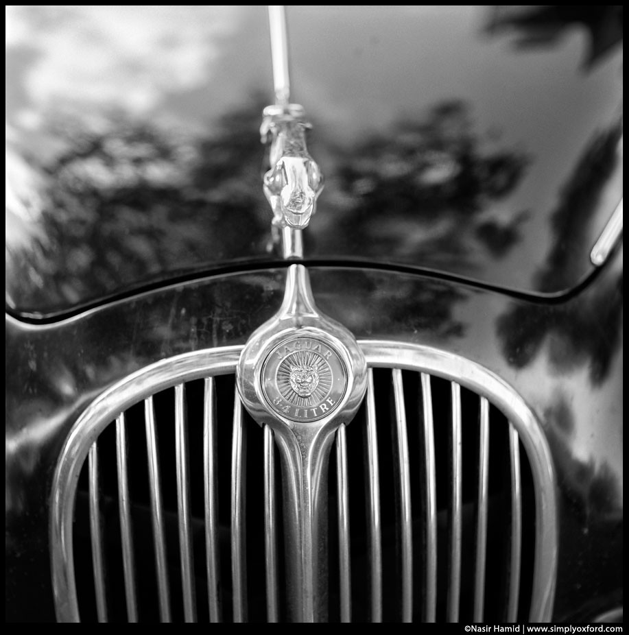 vintage jaguar car