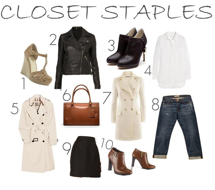 Closet Staples