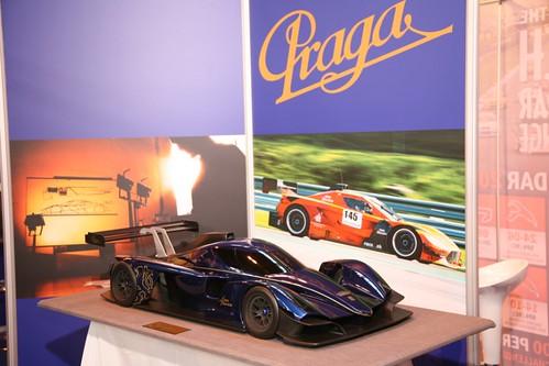 Praga Racing at the 2012 Autosport International Show