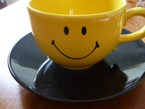 smiley mug