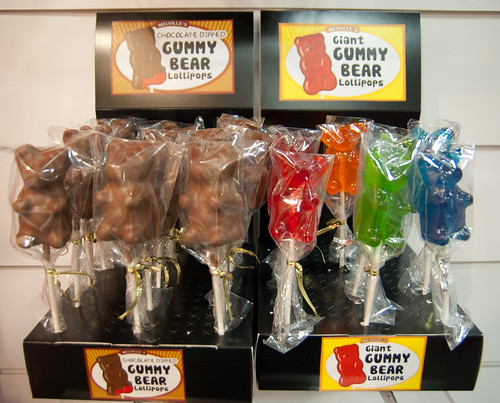 Melville Gummi Bear Lollipops