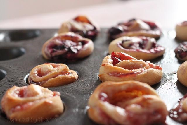 berry danish minis - baked