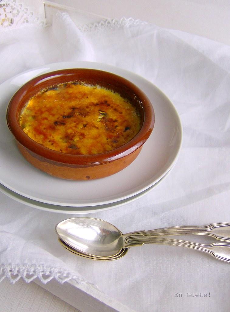 Crème brûlée al pistacho