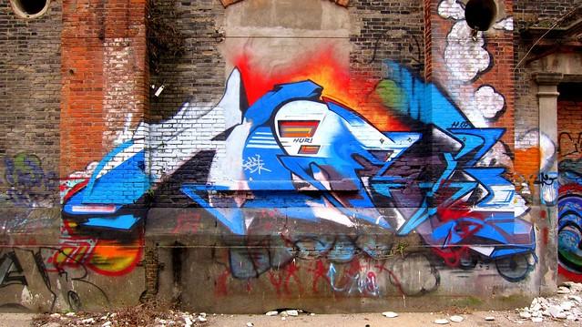 moganshan viertel shanghai 2012 - graffiti huri
