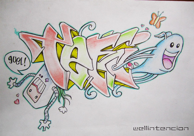 Nombre abigail en graffiti - Imagui