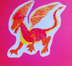 Maddy's dragon.