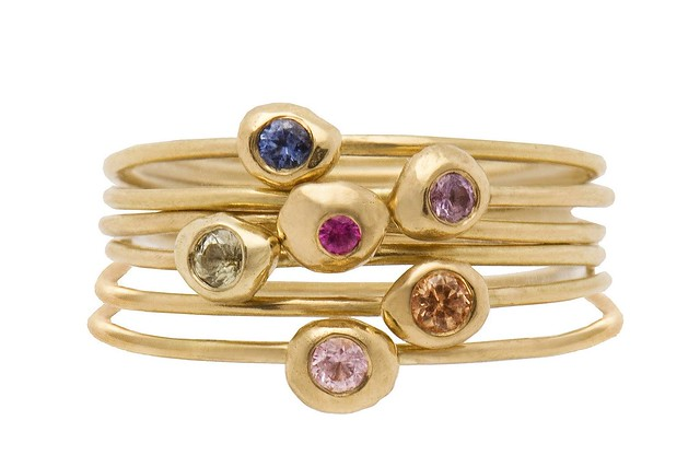 Stacking Rings - colour