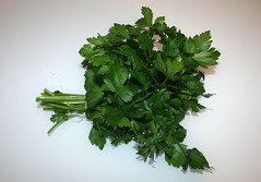 08 - Ingredient parsley / Zutat Petersilie