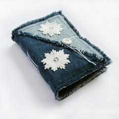 handmade journal floral