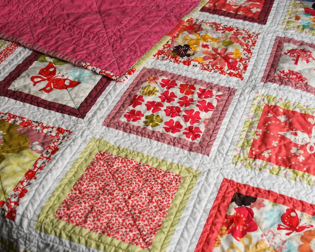 Just Wing It Baby Quilt