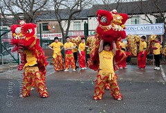 Chinese New Year 2012 Sheffield 'YEAR OF THE DRAGON'