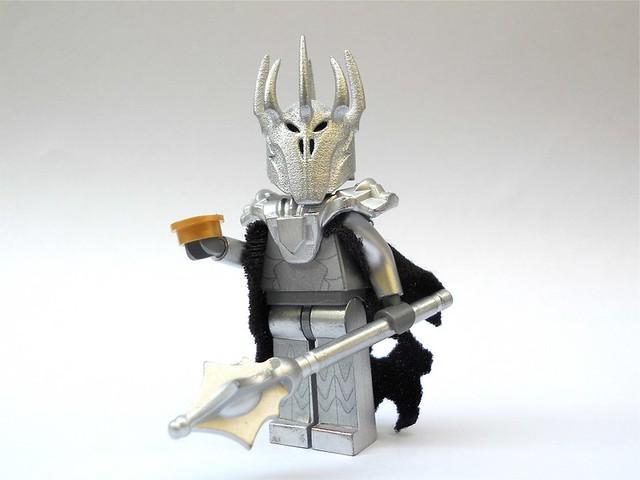 LEGO - How to Build a Sauron - YouTube