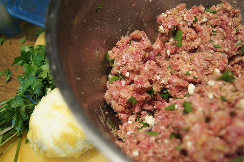 Greek Meatballs - lamb and feta