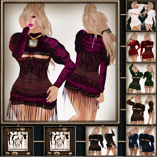 A&A Fashion Fara  Dress