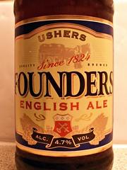 Thomas Hardy, Ushers Founders, England