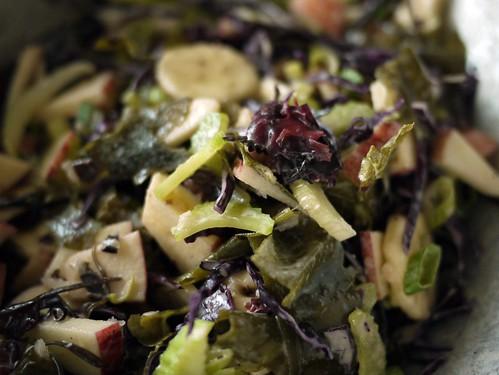 seaweed waldorf salad