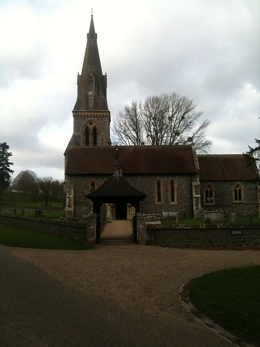 Master of a thousand things afternoon stroll through the St mark s church englefield