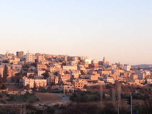 Sunset in Amman, Jordan