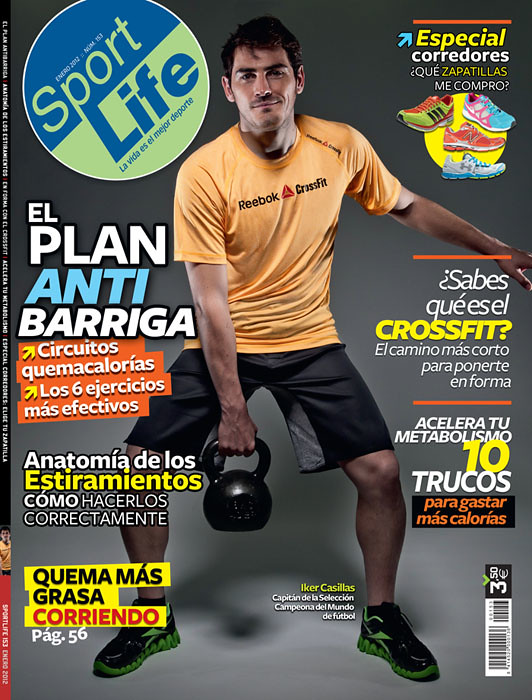 SportLife 153 cover featuring Iker Casillas