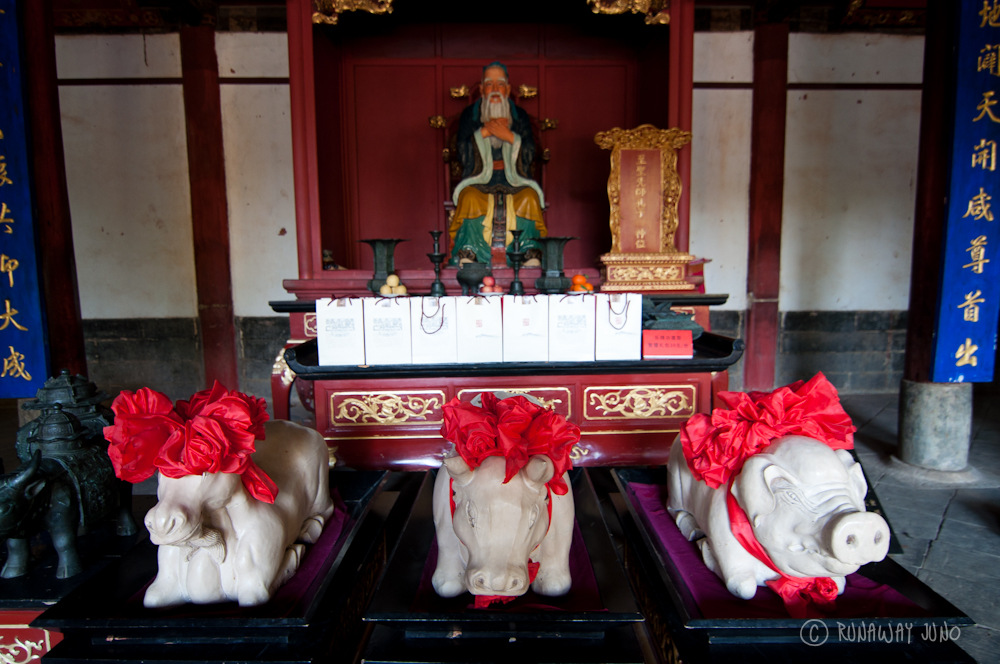 Chinese New Year at Confucian Temple