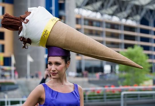 2009-royal-ascot-ice-cream-cone