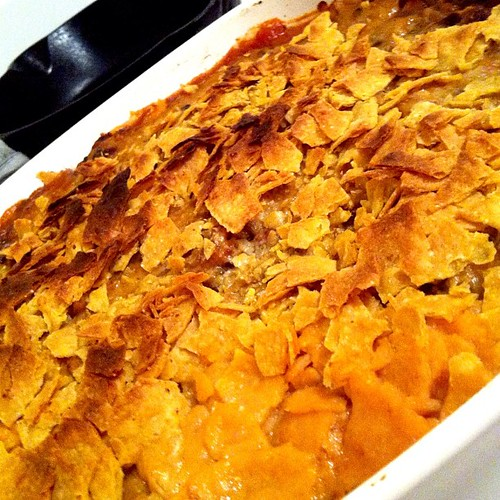 Latin leftovers casserole