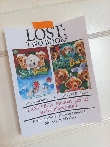 Lost: 2 books.