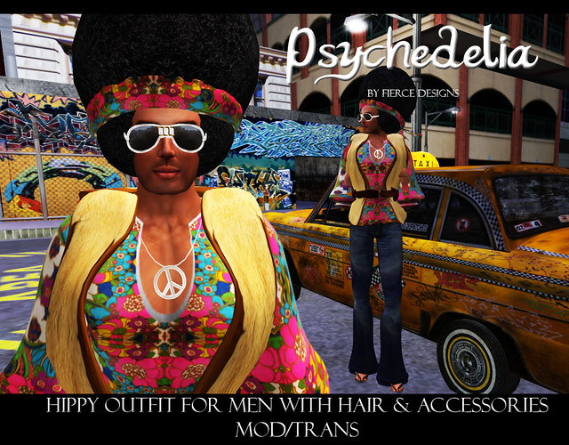 Psychedelia for men by Fierce Designs
