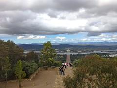 Atop Mt Ainslie