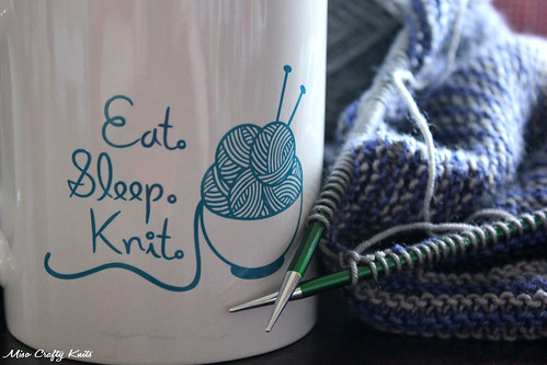 Eat Sleep Knit Closeup