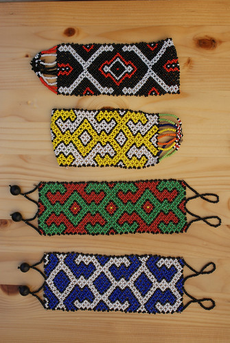 Shipibo Bead Work (8) A by Howard G Charing
