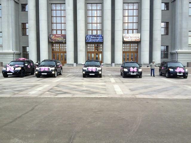Незаконная паркова на Площади Куйбышева