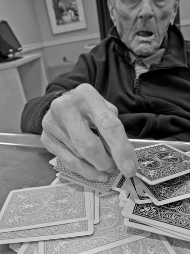 dad and cards - a wonderful match by Susan NYC