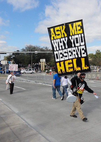 """Ask me why you deserve hell"""