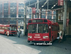 4651  MGR 951T Leyland National MK I. Worswick Street Bus Station NEWCASTLE UPON TYNE