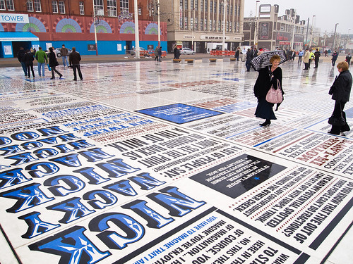 Blackpool's Comedy Carpet by Christian Cable