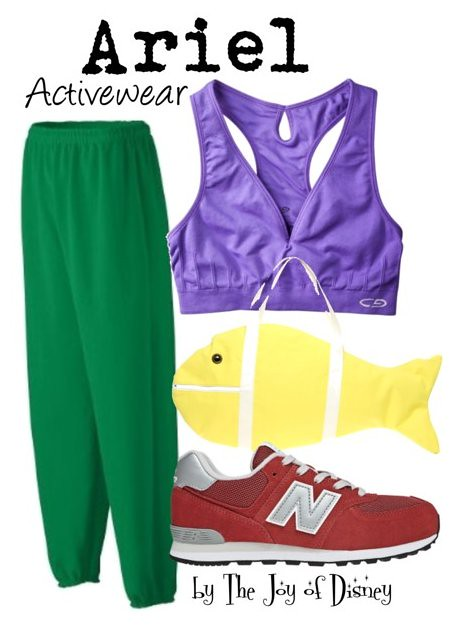 Inspired by: Ariel Activewear