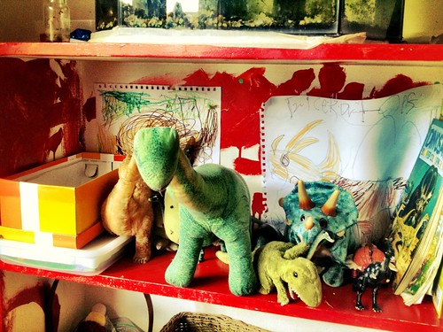 The Dinosaur Shelf