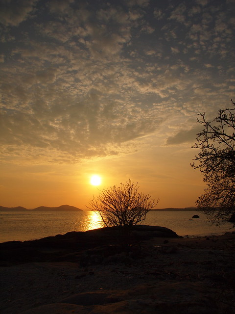 Sunset in Koh Samui