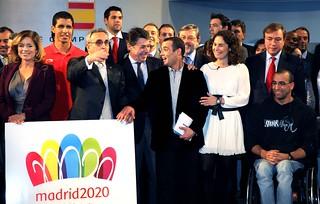 Presentación de logo de Madrid 2020