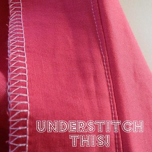 understitch this