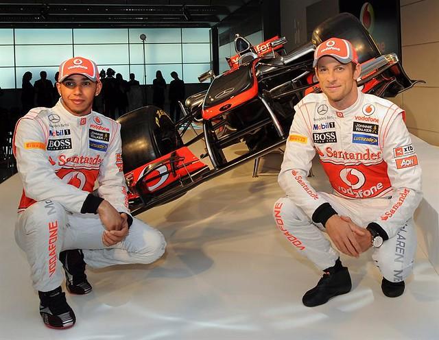 McLaren presentó nueva maquinaria