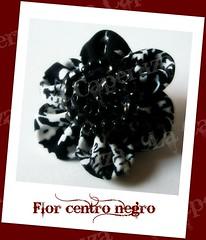 marcaFlor centro negro