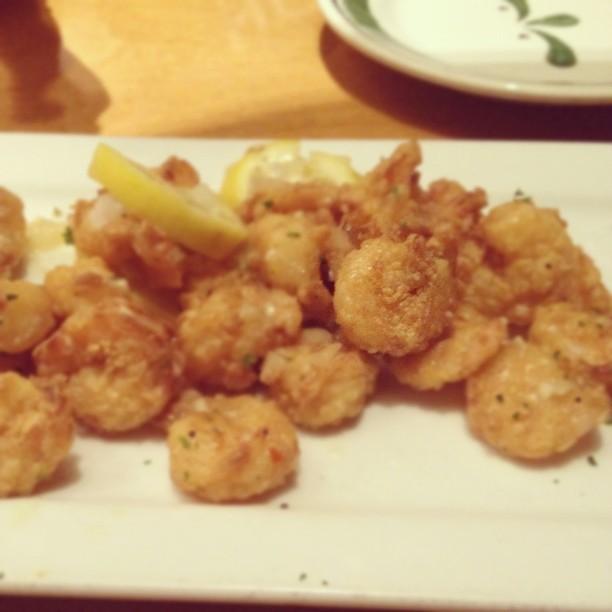 Fritta shrimp scampi flickr photo sharing for Olive garden shrimp scampi fritta